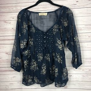 Abercrombie and Fitch Blouse size Medium
